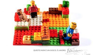 Building a New Future: Work. Matias Perdomo and Simon Press sign the emblem dish at Identità Milano