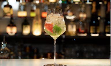Uno dei grandi cocktail creati conAsti spumante e del Moscato d'Asti Docg in collaborazione con il flair bartender Giorgio Facchinetti