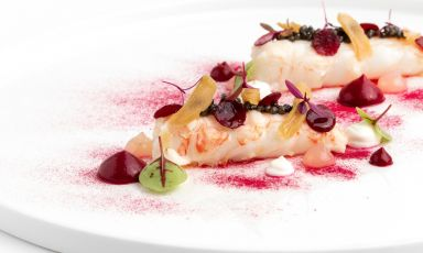 Una cucina elegante e creative, che ha radici campane, ma si ispira anche alle esperienze vissute dallo chef in Europa,Francia e alla Toscana