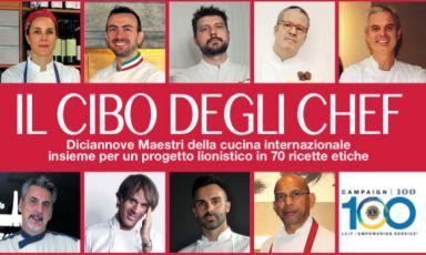 Il Cibo degli Chef, 19 maestri della cucina e un libro con una buona causa
