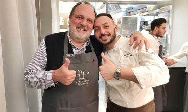 Paolo Marchi e Alessandro Rinaldi: i due chef del pranzo di Natale di Identità Golose e Magenta Bureau