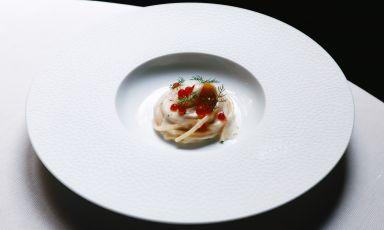 Spaghettone panna, vodka, salmone: la ricetta della rinascita di Stefano Sforza