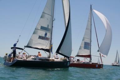 La regata segue un percorso di 12 miglia, dal Lido di Venezia all'Isola di San Giorgio