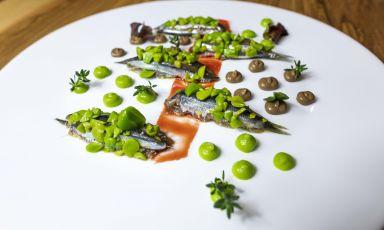 Acciughe in campagna: la ricetta della rinascita di Ninni Radicini, chef assieme a Peppe Barone del ristorante Terrammare
