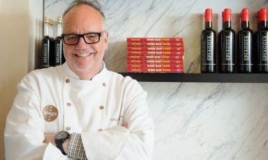 """Sarà Tony Mantuano, del ristorante Spiaggia di Chicago, il protagonista da mercoledì a domenica di """"Italian & International Best Chefs"""", a Identità Expo S.Pellegrino.È possibile prenotare (il costo è di 75 euro per quattro portate vini compresi) mandando una mail al seguente indirizzo: expo@magentabureau.it. Tel: +39.02.62012701 (fotoKenny Nakai)"""
