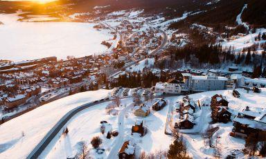 La Svezia, Are e un bacio al palombo