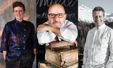 Franco Pepe, con Viviana Varese e Paolo Rota di Da Vittorio, chiude alla grande il programma di Identità Golose Milano