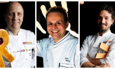 Heinz Beck, Nicola Portinari and Piergiorgio Parini will be the three protagonists in the ninth edition of PizzaUp, starting tomorrow in Vighizzolo d'Este. They will discuss with the pizza chefs, covering three decisive themes (nutrition, energy and earth, respectively) and analysing the possible matches between dough and topping