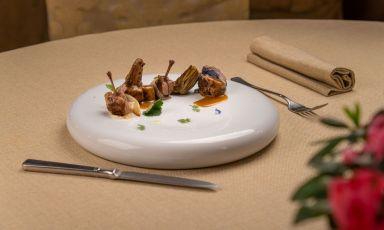 Tutto Quaglia: il piatto della rinascita di Marco Cappelletti, chef del ristorante e relaisMarchese del Grillo, Fabriano (Ancona)