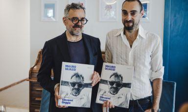 Mauro Uliassi e Giovanni Gaggia, dal loro incontro è nato un libro per Maretti Editore. Foto Federico Pollini