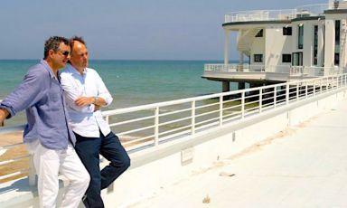 Mauro Uliassi e Moreno Cedroni in una foto d'archivio. Sono le stelle più brillanti della cucina marchigiana