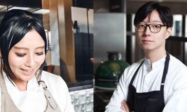 Chang Liu e Jun Giovannini, nuovi chef rispettivamente di Mu Dim Sum a Milano e di Mu Fish a Nova Milanese, hanno presentato in anteprima alcuni dei loro piatti inediti a Identità Golose Milano