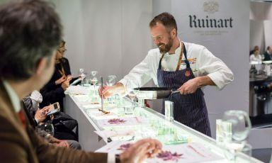 Ruinart, discovering Champagne Rosé