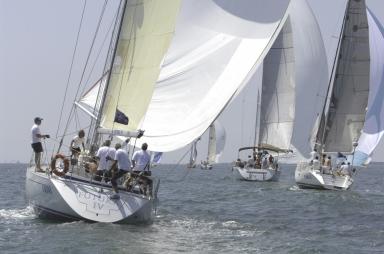 La regata in corso