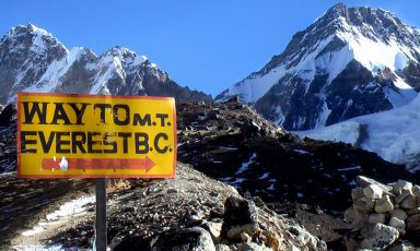 Pasto gourmet ma a 5.300 metri, sull'Everest