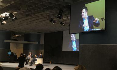 L'incontro con il ministro Gian Marco Centinai
