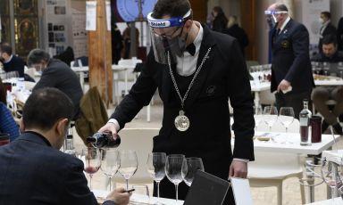 Un momento del Benvenuto Brunello Off, che si è svolto il 6 e 7 marzo a Montalcino per la stampa specializzata
