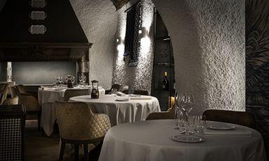 Il nuovo assetto dell'ormai ex ristorante Porticciolo 84 di Lecco. Tra due settimane riaprirà col nome di Didactico, ristorante appunto didattico