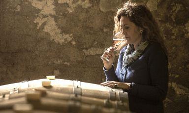 Lucia Barzanò, titolare dell'azienda storica Mosnel diCamignone (Brescia)