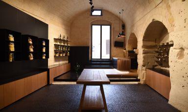 Particolare dello storePiù Sud -Food Excellence, indirizzoRione Pianelle Civico 16, Matera