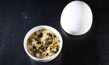 Lapasta e fagili alla trentina diPeter Brunel, chef del ristorante omonimo ad Arco (Trento), protagonista questa settimana con Identità di pasta all'Hub di via Romagnosi