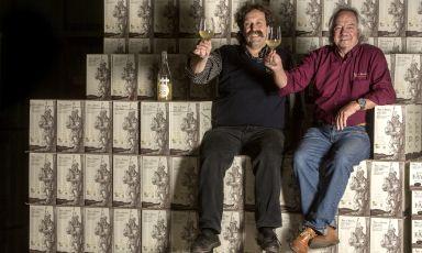 Mario Pojer e Fiorentino Sandri. Amici di lungo corso, fondarono l'omonima azienda agricola di Faedo (Trento) nel 1975