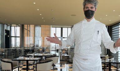 Francesco Mascheroni, 42 anni, da giugno 2018 chef del ristorante dell'Armani Hotel di via Manzoni31, Milano