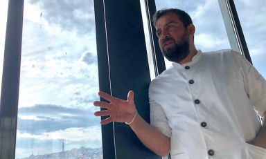 Maksut Askar, 43, Turkish of Arab descent, since almost 6 years ago chef at Neolokal in Istanbul, one of the most admired restaurants in Turkey