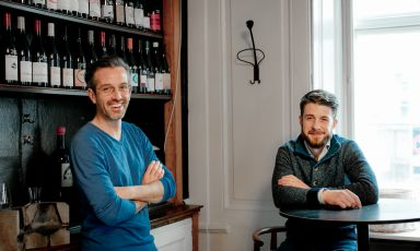 Lorenzo Cioli and Stefano Ferraro, patrons at Loste Cafe, soon opening in Via Guicciardini 5, in Milan