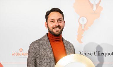 Fabrizio Picano, 37 anni, maitre in forze al ristorante Per Me – Giulio Terrinoni di Roma (foto Onstage Studio)