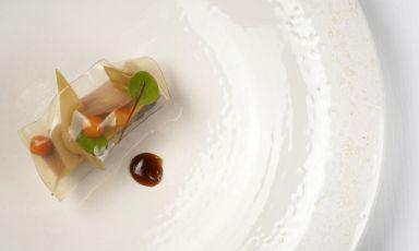 Fetta di manzo in gelatina di zuzu: il piatto del 2021 di Alessandro Ingiulla
