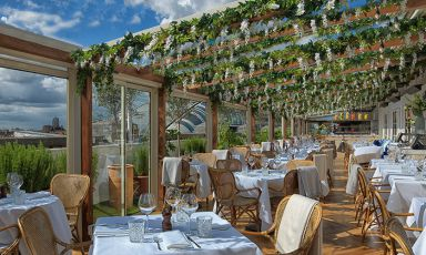 altois the iconic restaurant on the rooftop ofSelfridgesin London and the location of a special dinner event:Viaggio in Italia