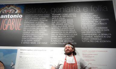 Close-up, the chef from Viareggio Cristiano Tomei.