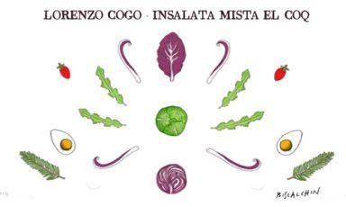 Radish, cabbage, savoy cabbage, kale leaves, cabba
