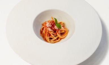 This dish, presented by Maurizio De Riggi, chef at