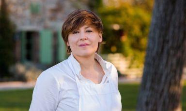 Antonia Klugmann con il suo Argine a Vencò è diventata un simbolo della ristorazione d'autore nel Collio (anche se non è la sua terra natale...)