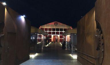 Un'immagine dell'Aponiente presa dall'ingresso in una splendida sera di inizio primavera
