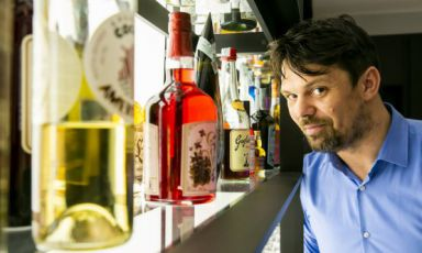 Luigi Barberis, responsabile bar di Identità Golose Milano, l'hub delle gastronomia di via Romagnosi, e proprietario del Caffè degli Artisti ad Alessandria