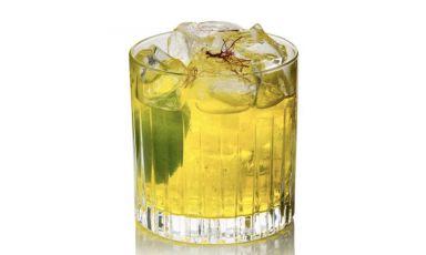 Caïpiroska allo zafferano: il cocktail di Emanuele Balestra, barmanper il gruppo di alta hotellerieBarriére