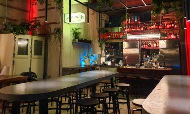 La sala di Carico, in via Savona 1 a Milano