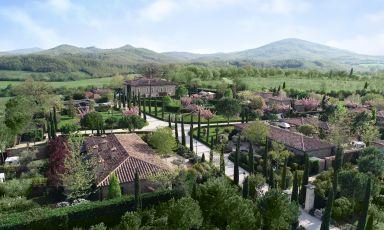 Borgo Santo Pietro, luxury Relais da 300 ettari in località Palazzetto a Chiusdino (Siena)