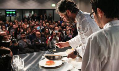 Carlo Cracco protagonista a Identità di Pasta(fotoBrambilla/Serrani)