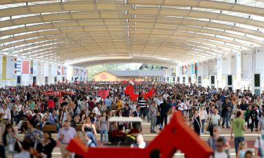 L'arteria principale di Expo MIlano 2015, il Decumano