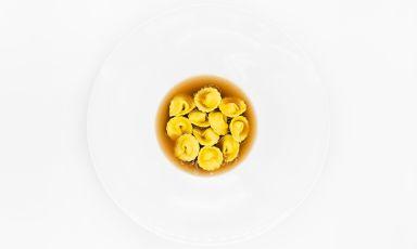 Sagne, nocciola, lenticchie: il piatto del 2021 di Gianmarco Dell'Armi