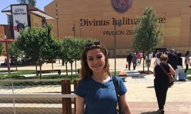 Italian food-blogger (and lawyer) Serena Palumbo s