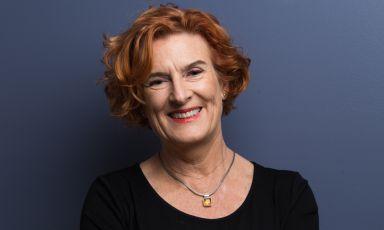 La food writer Joanna Savill, nata in Inghilterra, cresciuta in Australia. Tra le tanti collaborazioni, anche quella per la Guida di Identità Golose