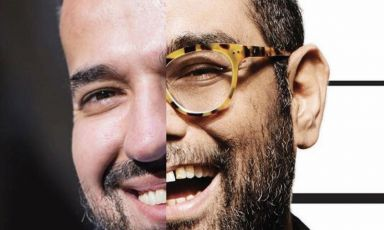 Mukhin and Gaggan together in a collage used to promote a virtual four-handed dinner organised by The White Rabbit