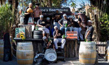 Joe's Beerhouse a Windhoek, capitale della Namibia, indirizzo 160 NelsonMandela avenue