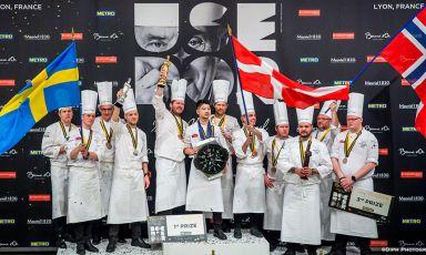 Bocuse d'Or, vince la Danimarca. Ruggieri: contento, abbiamo dato tutto