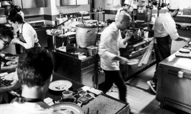 Riccardo Camanini, dal 14 marzo 2014 al timone del ristorante Lido 84di Gardone Riviera (Brescia). Foto di Lido Vannucchi